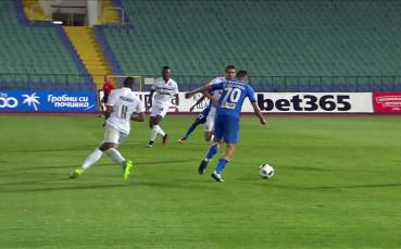 Георги Костадинов за Левски срещу Славия