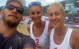 Инфарктен тайбрек ни остави без медал от Балканското по плажен волейбол