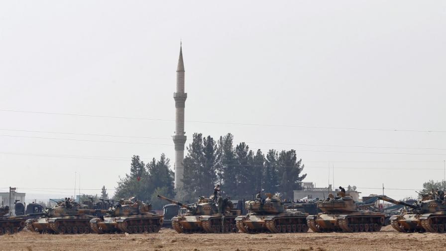 Ердоган поведе битка срещу Асад, изчезнаха турски войници