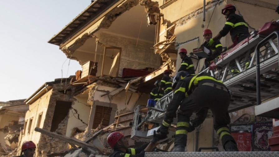 Ще изчезнат ли градове от картата след труса в Италия