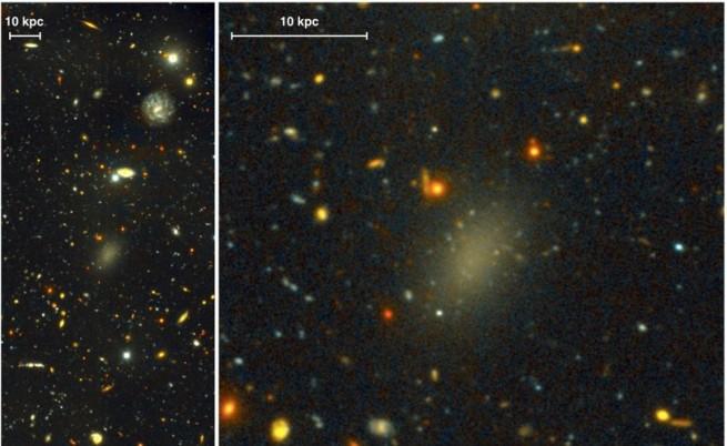 Астрономи откриха галактика от тъмна материя