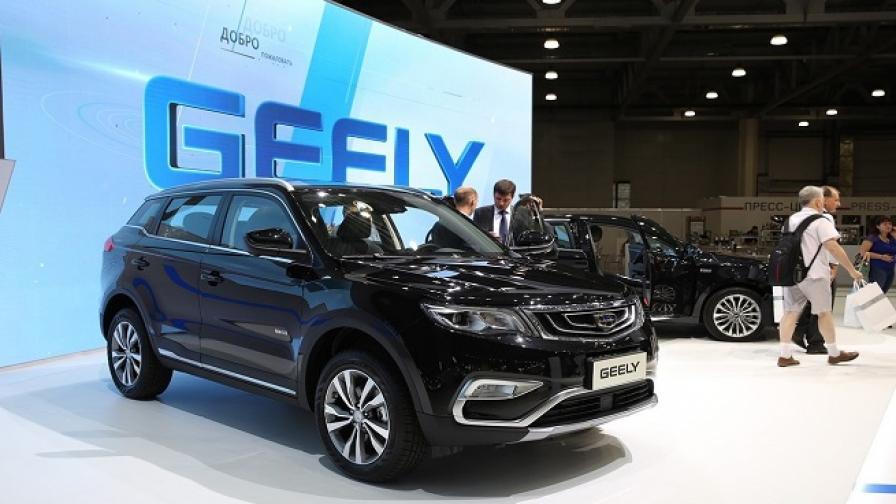 Президентът на Geely е най-големият акционер в Daimler