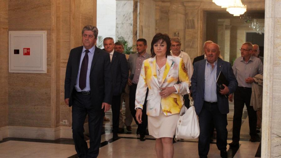Нинова: Борисов стана говорител на Ердоган