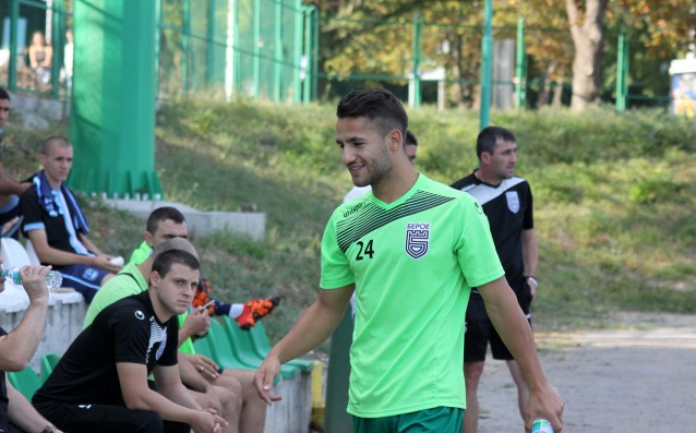 Още един от основните играчи и Берое – Борислав Цонев