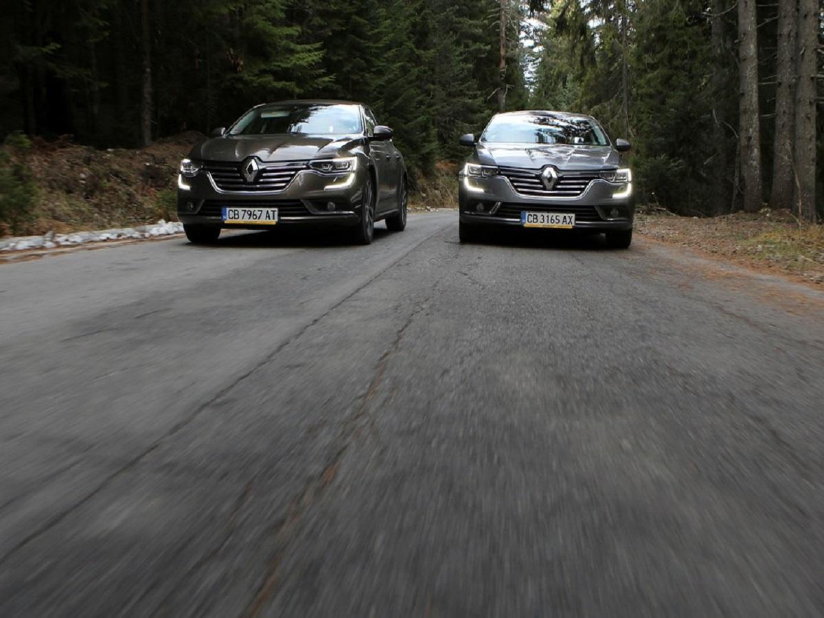 Renault Talisman е автомобил, с който изминаването на дълги разстояния е истинско удоволствие. Тествахме го в продължение на над 900 км и останахме изумени от още един факт: този бензинов двигател с 200 к.с. предлага разход на 2,0-литров дизелов мотор, но с много по-слаби динамични параметри. И всичко това в пълен комфорт, просторен интериор и огромен багажник.