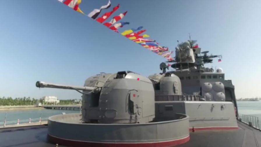 Китай и Русия обединиха военната си мощ