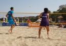 """""""Радостта от движението"""" подкрепи Европейското първенство по плажен тенис"""