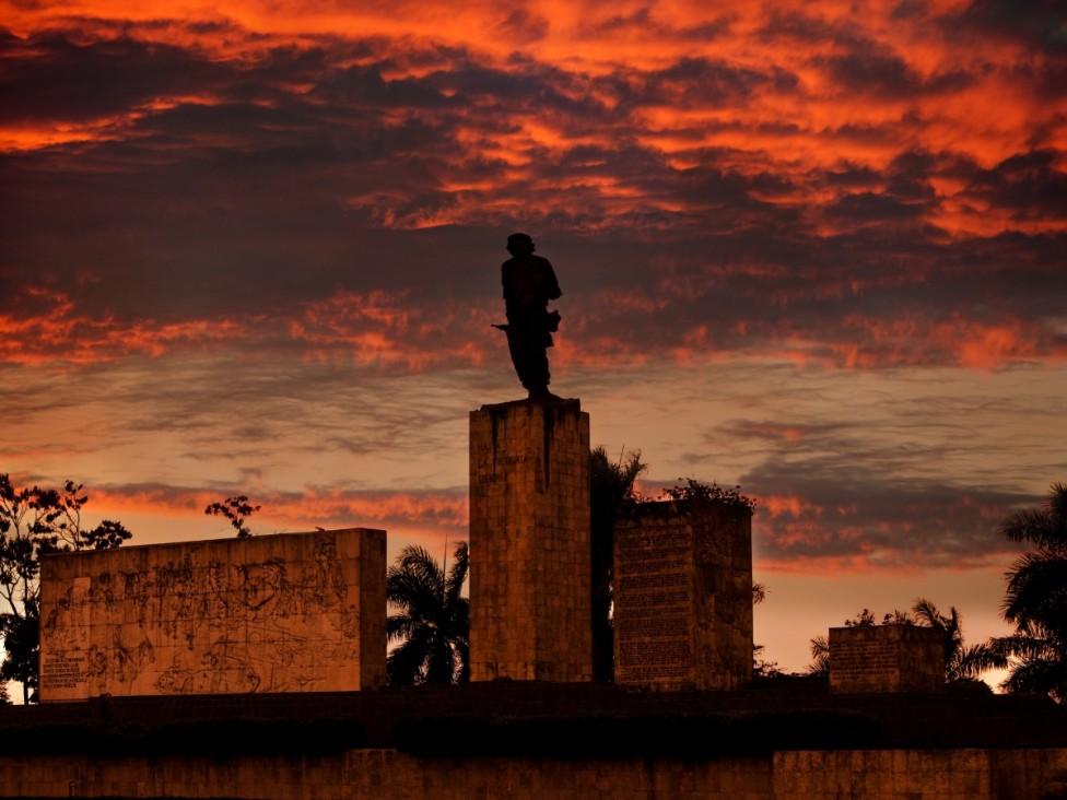 - Историческият кубински град Санта Клара