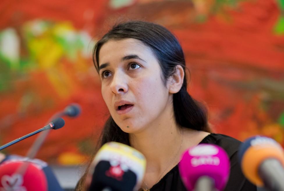 """- Надя Мурад, успяла да избяга от робство в """"Ислямска държава"""", ще стане посланик на добра воля на ООН. Тя е представител на иракското малцинство на..."""