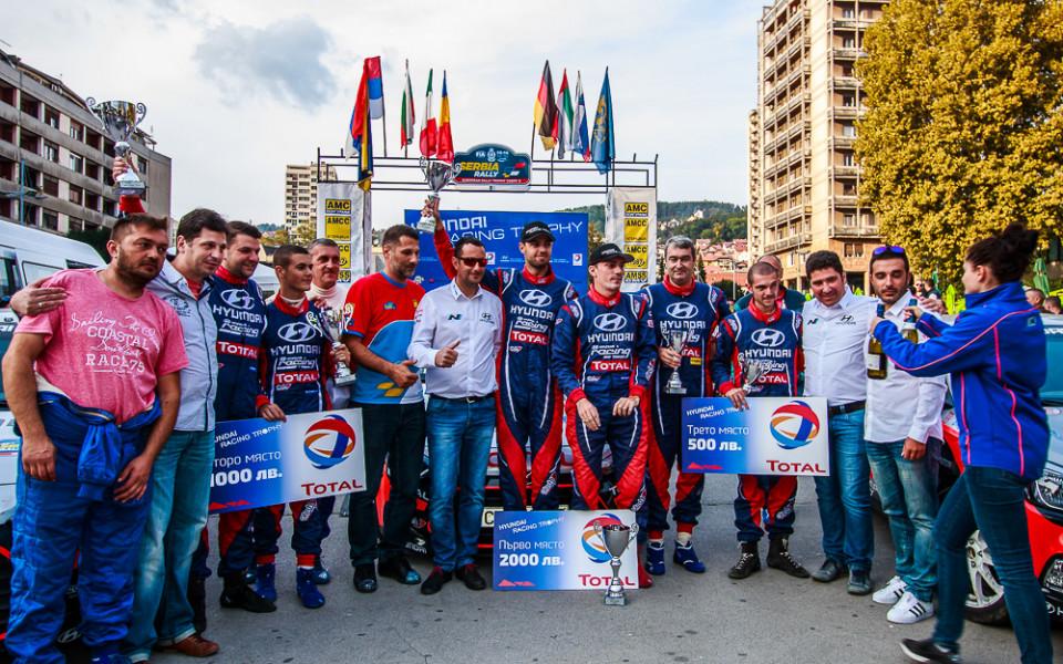 Петър Гьошев: Горд съм с представянето на пилотите