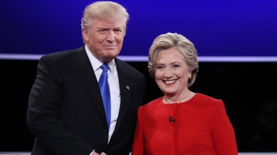 Тръмп излъгал 58 пъти на дебата с Клинтън