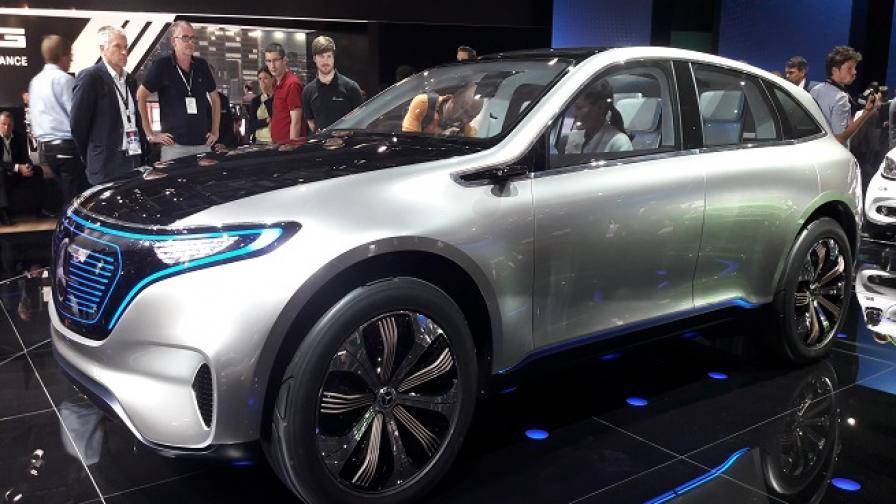 Daimler влага 10 млрд. евро в 10 електромобила до 2025 г.