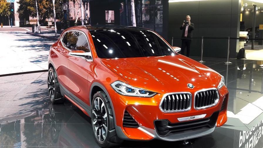 BMW Concept X2 демонстрира нова дизайнерска линия? Супер
