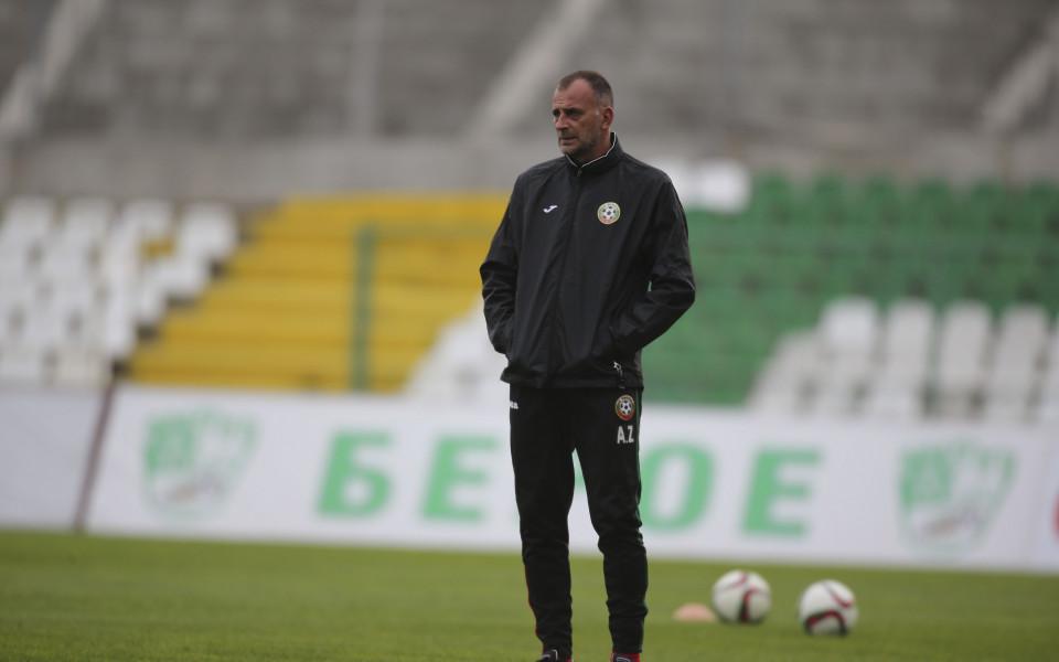 Тони Здравков: Искам футболисти със самочувствие