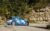 Новото поколение i20 R5 с добро време на дебютното си състезание в Корсика