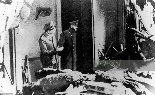 Последната снимка на Хитлер преди да се самоубие