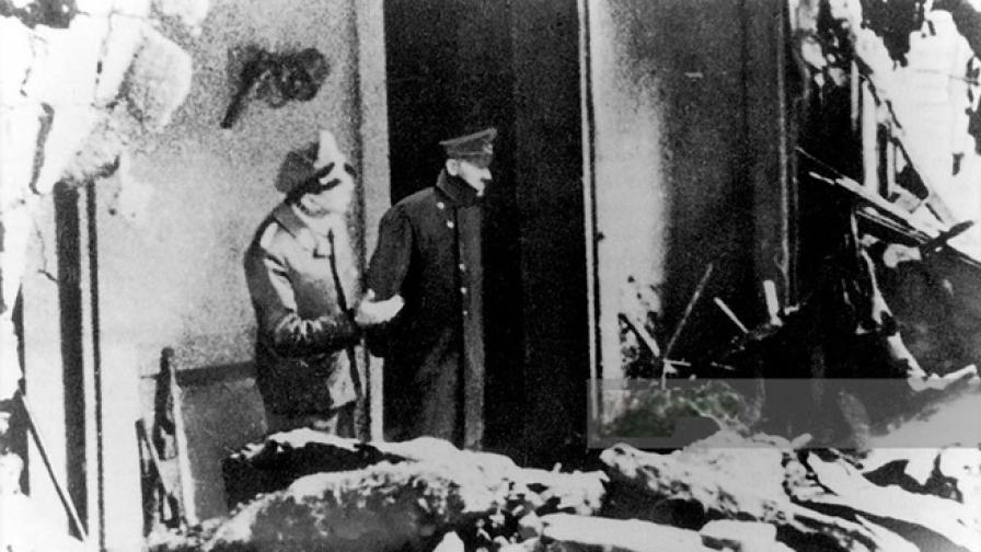 Вижте последната снимка на Хитлер