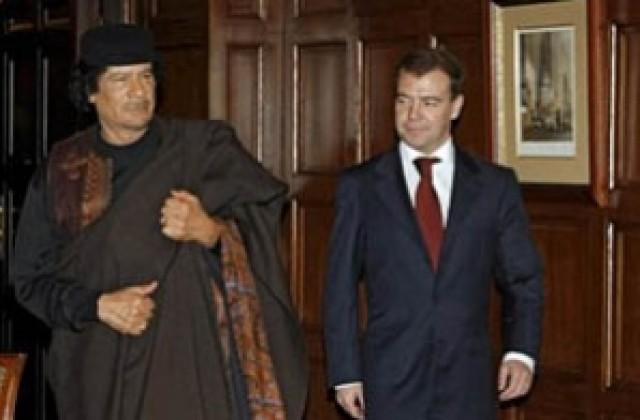 Каддафи приезд в москву фото