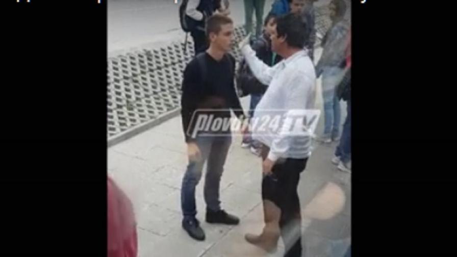 Шофьор на автобус бие шамари на ученик в Пловдив