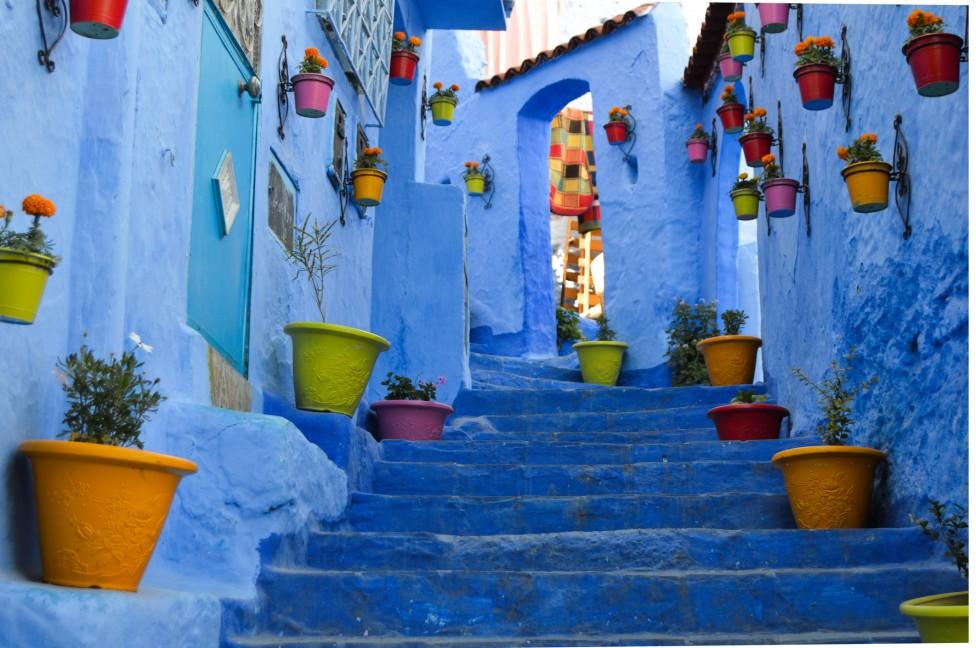 - Благодарение на жените си град Шефшауен се е превърнал в една от най-атрактивните туристически дестинации в Мароко.