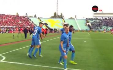 ЦСКА - Левски 0:1 /първо полувреме/