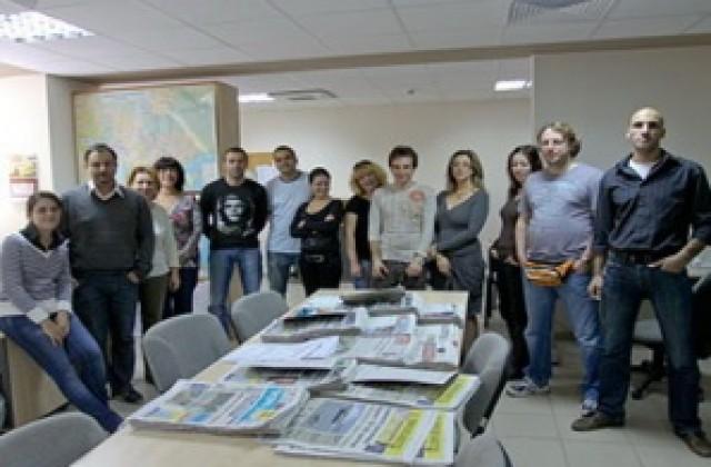 Последен ден с новини за вестник Позвънете - Варна