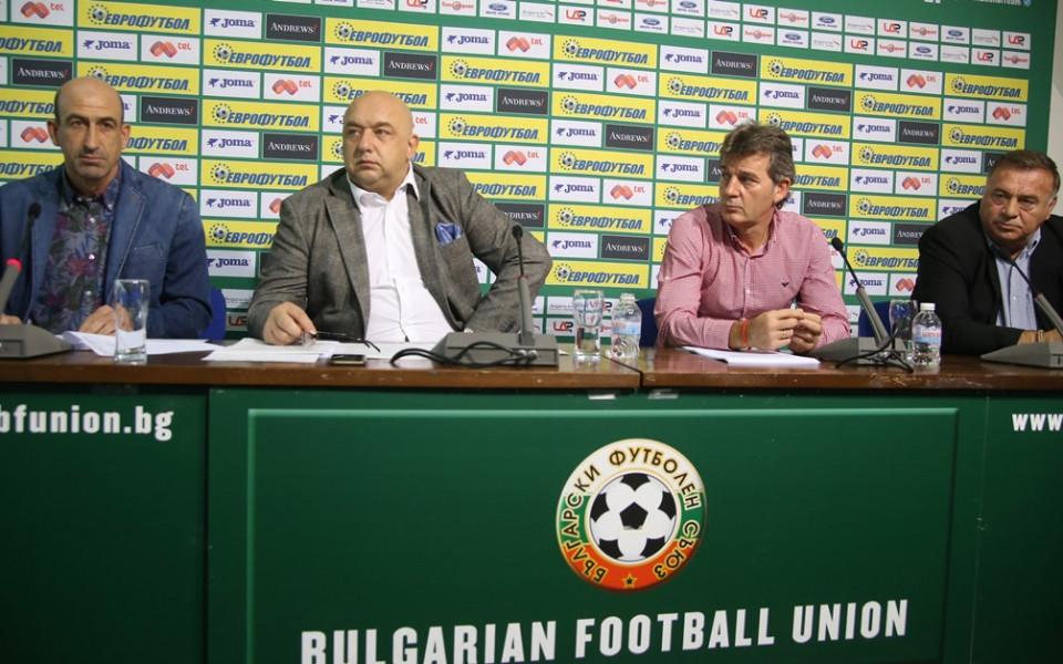 Кралев: Увеличаваме с 15% бюджета бюджета за детско-юношески футбол