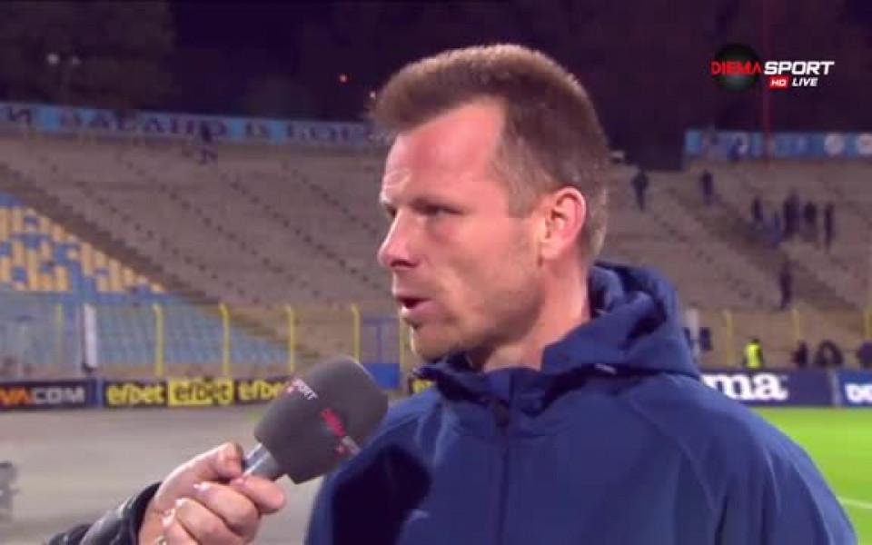 Топузаков: Някои играчи имат оплаквания