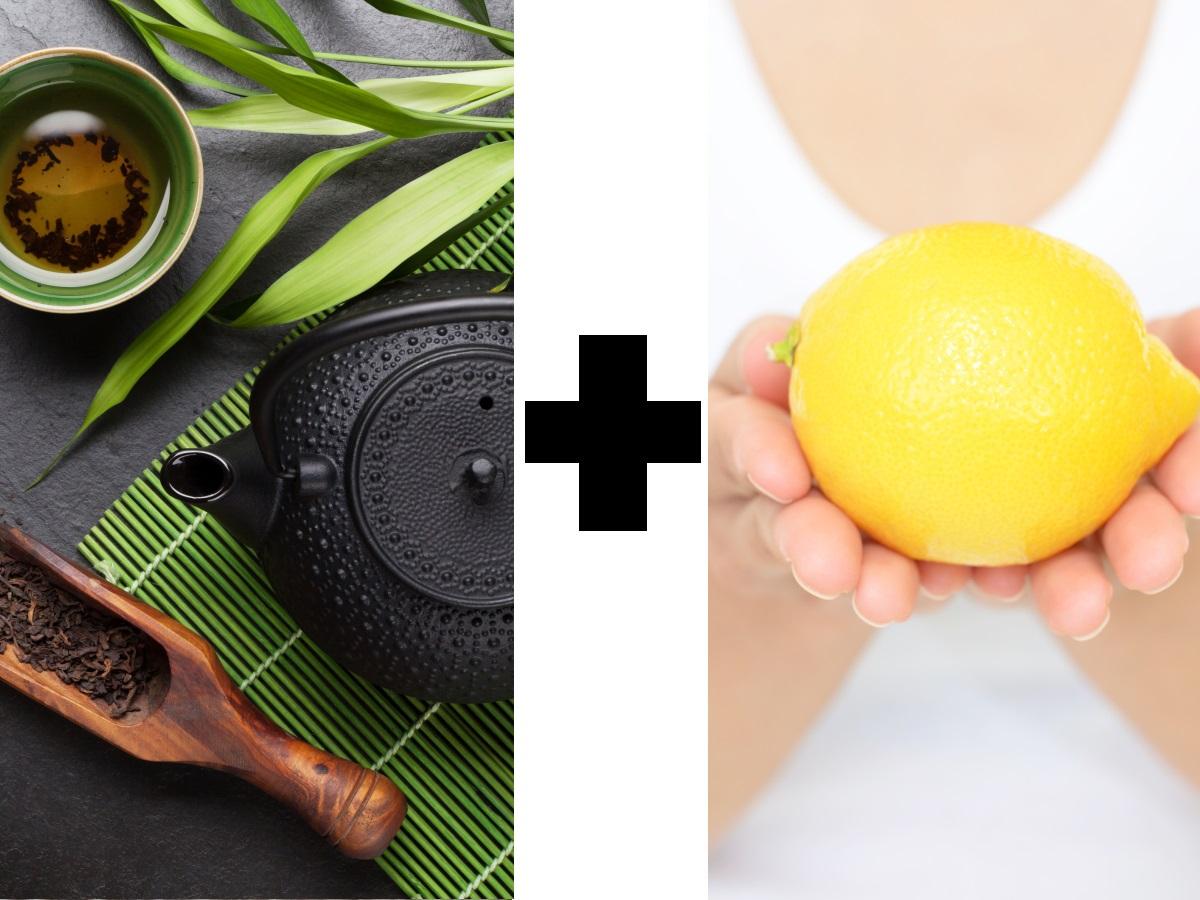 Зеленият чай трябва да се пие с лимон, защото той улеснява усвояването на антиоксидантите.