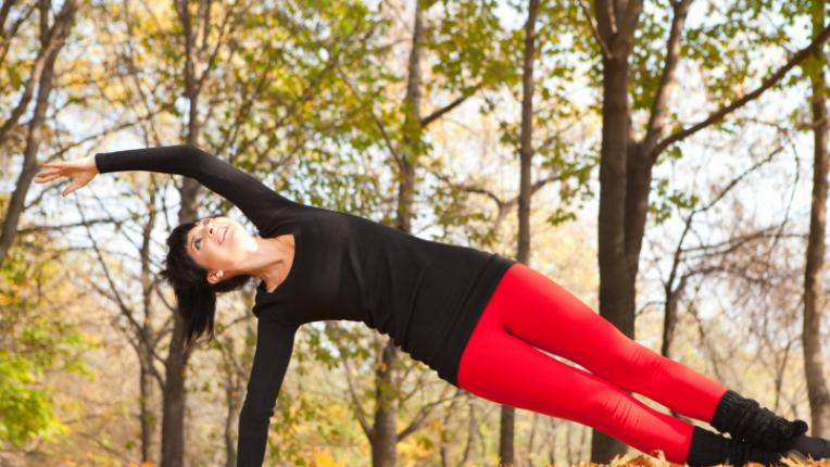 спорт есен упражнения