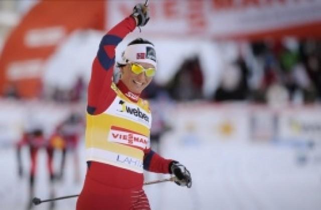 549a2d5ce1c СНИМКИ: Бьорген спечели за трети път Световната купа по ски-бягане ...