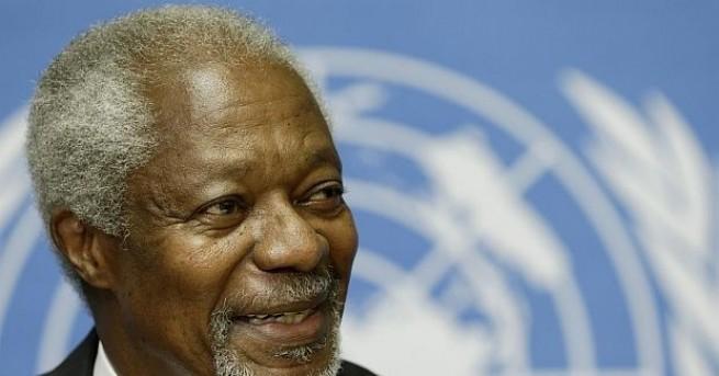 На 80-годишна възраст почина бившият генерален секретар на ООН Кофи