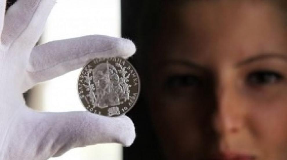 БНБ пусна сребърна монета за 110-годишнината от Илинденско-Преображенското...