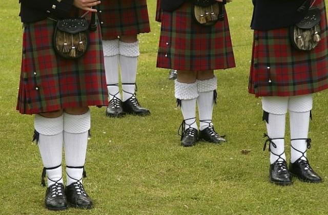 Защо шотландците ходят с поли?