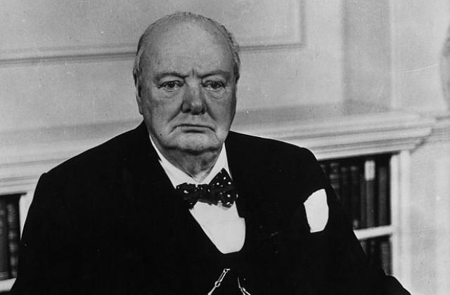 Последната картина на Уинстън Чърчил се предлага на търг ...