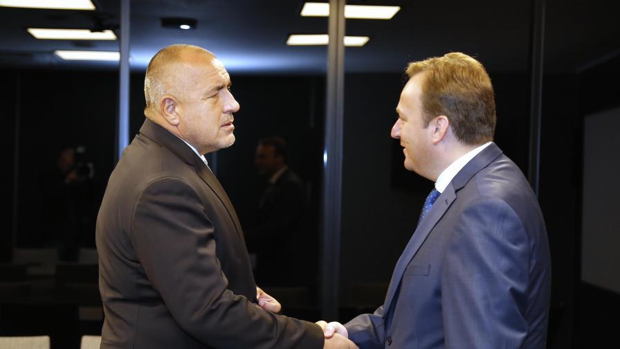 Борисов и Димитриев с общи усилия за добри отношения