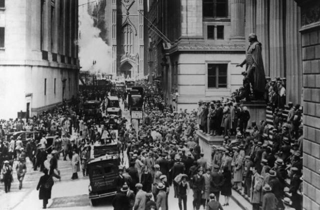 24 октомври: 1929 година - срив на Нюйоркската фондова борса ...