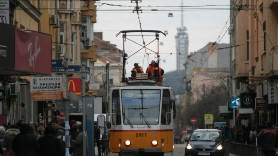 За Гергьовден агнето идва с трамвай