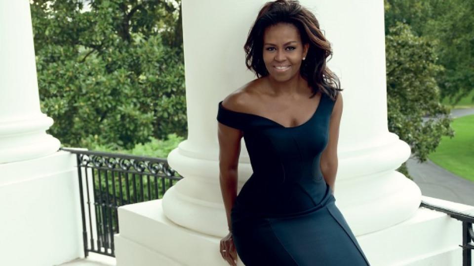 Мишел Обама на 54! - първата дама, в която се влюби целият свят