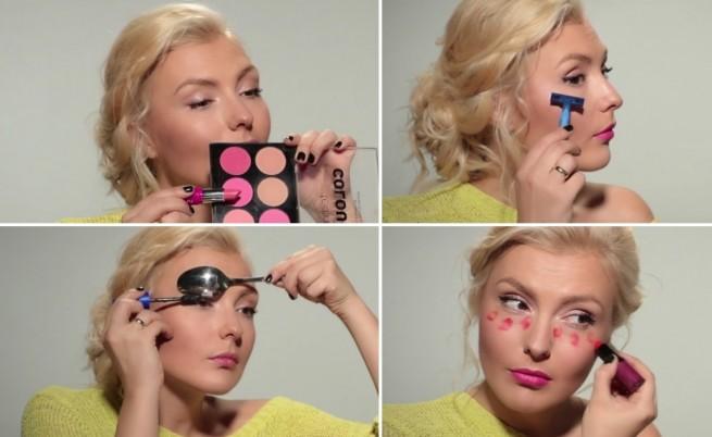 Тиксо за око, вилица за нос и бръснене на лице - работят ли тези трикове за красота