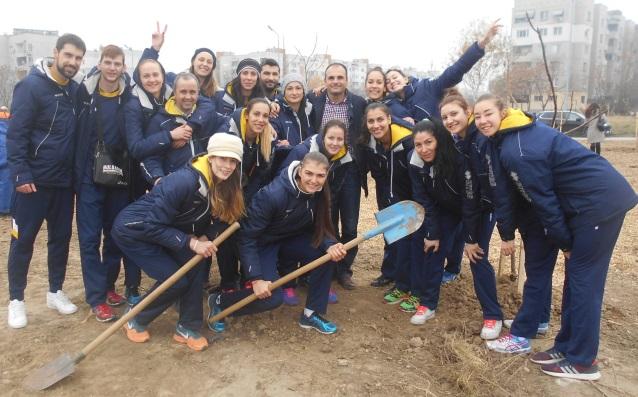 Волейболистките на Марица<strong> източник: ВК Марица</strong>