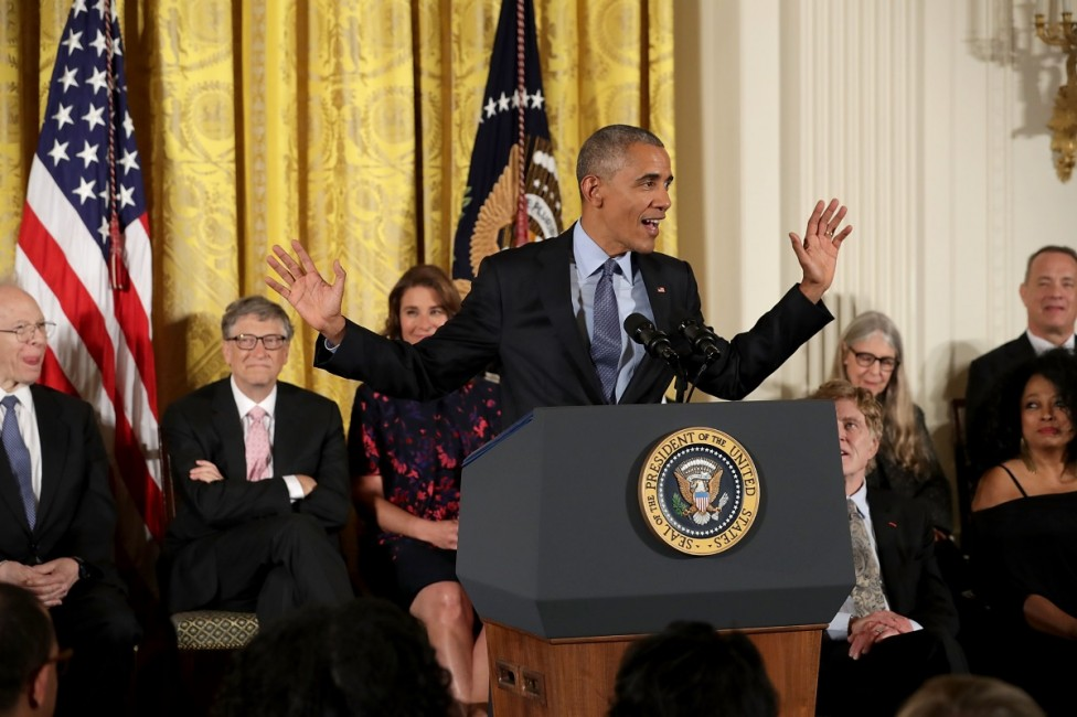 - Барак Обама връчи Медалите на свободата в Белия дом