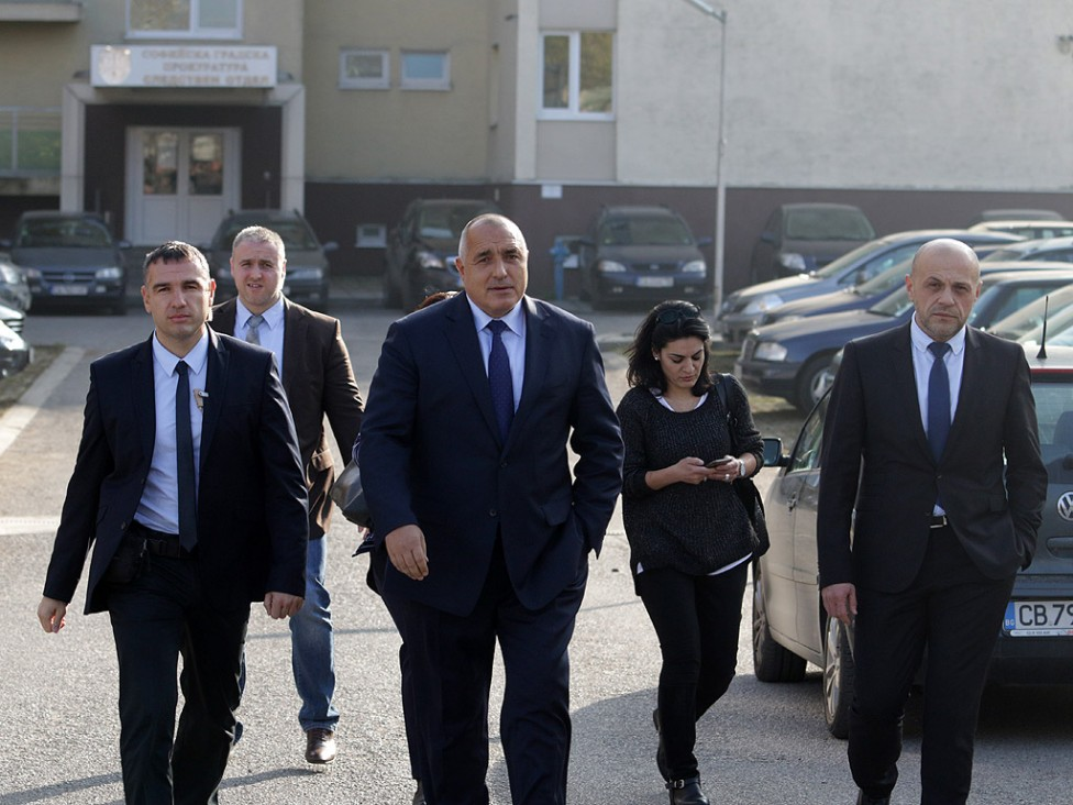 - Министри и премиерът в оставка Бойко Борисов се явиха в следствието