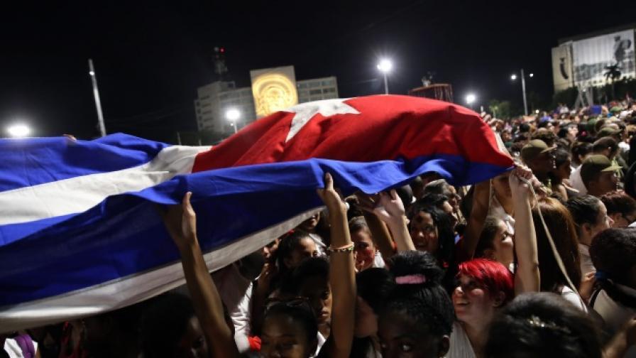 Куба се сбогува с Фидел Кастро