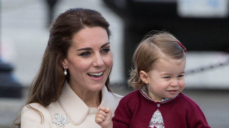 принцеса Шарлот Кейт Мидълтън