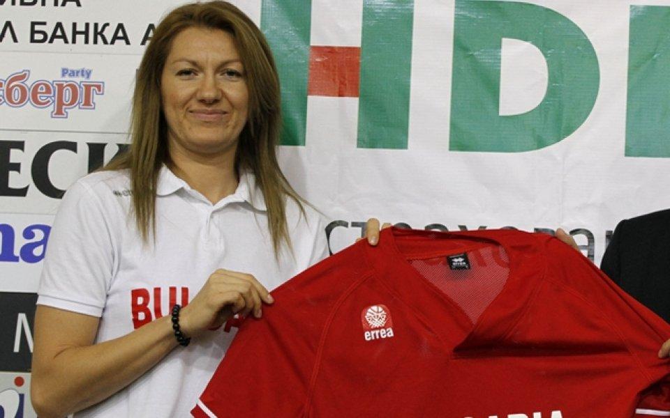 Баскетболистката Милена Томова: Играйте смело, здраво и се забавлявайте!