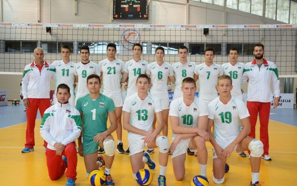 16 волейболисти под 19 години стартират подготовка за евроквалификацията
