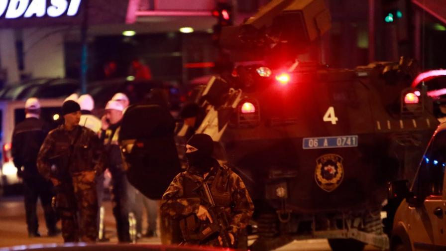 Въоръжен е опитал да влезе в посолството на САЩ в Анкара