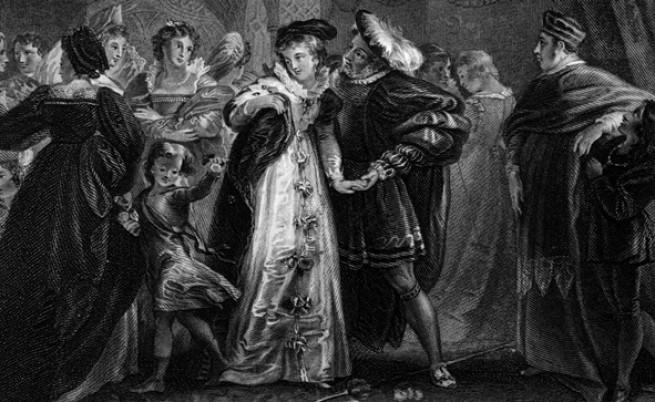 Хенри VIII и втората му съпруга Ан Болейн