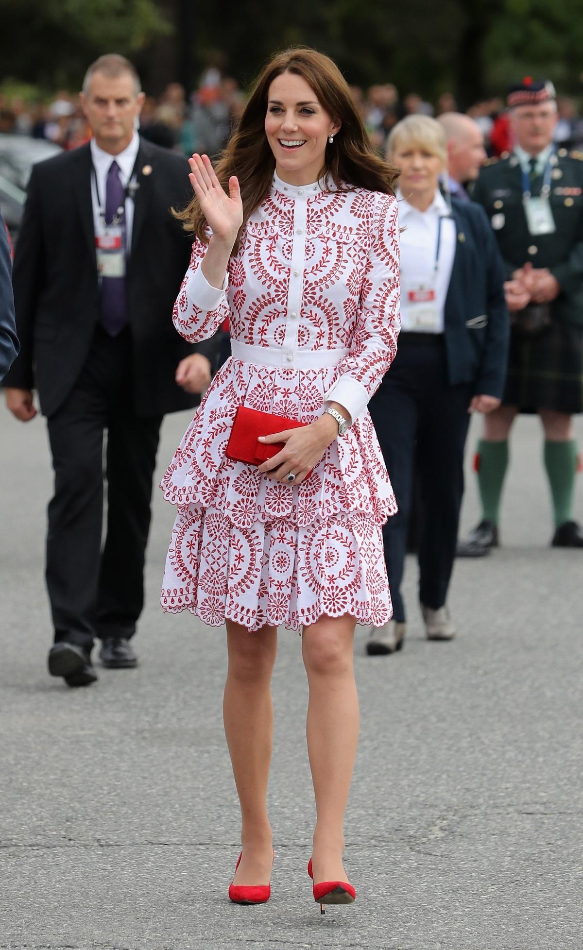 Кейт Мидълтън в Канада през септември
